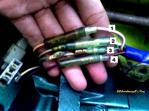 100 wiring diagram kelistrikan yamaha rx king cara