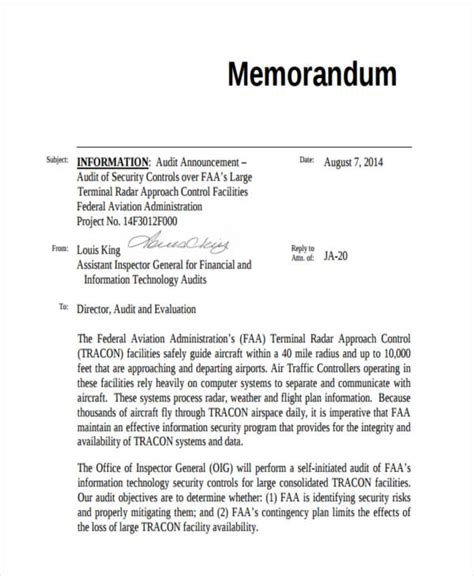 audit memo template audit memorandum related keywords audit memorandum