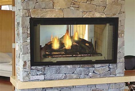 majestic designer series see thru radiant wood burning
