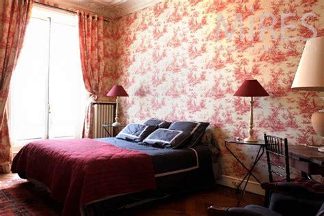 toile pour chambre d 233 coration chambre toile de jouy