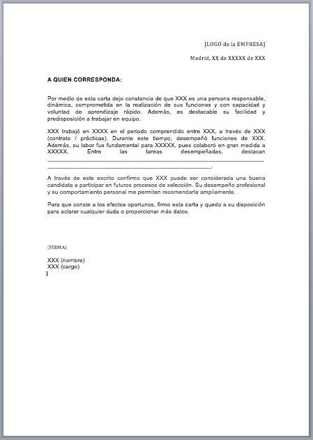 Polaris Office 5 Resume Templates by Modelo De Carta De Referencia Est 225 Ndar Listo Para