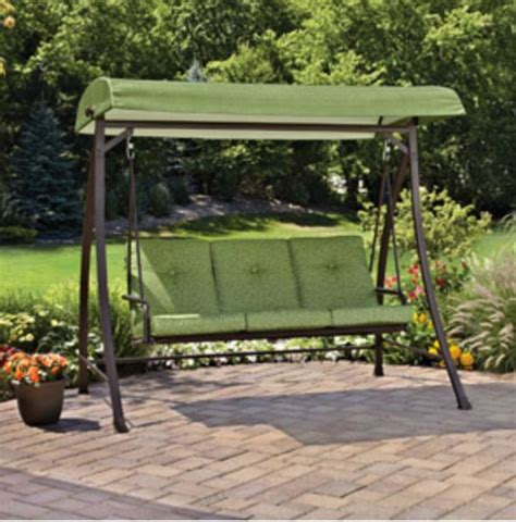 backyard swing bench bench swing seat outdoor home patio backyard canopy porch