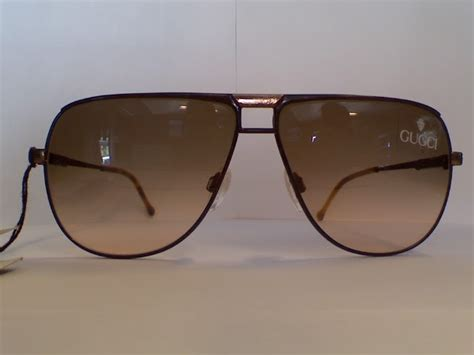 Glasses Uv 400 Gucci W7500 gentlemen s breakfast vintage gucci sunglasses