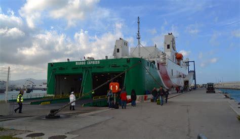 trasporti dal porto di tangeri med a tangeri citt marocco il porto di tangeri tangeri med