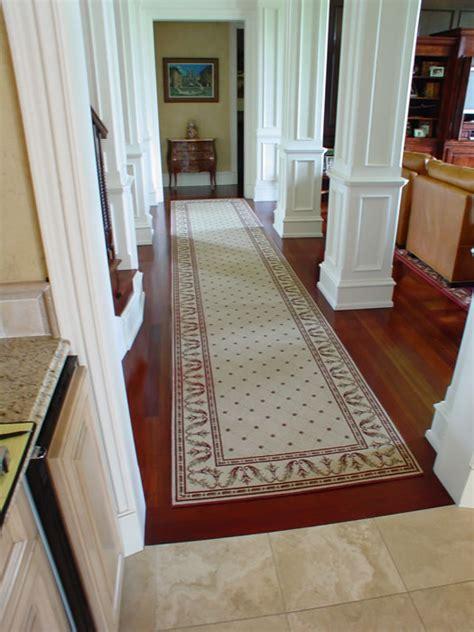 custom made runner rugs custom transitoinal runner overland park kansas area rug