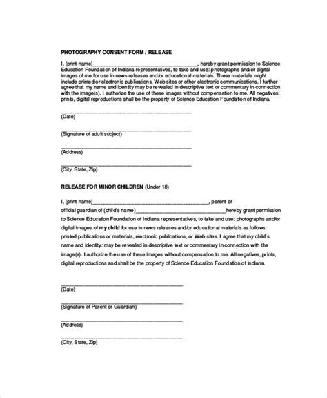 release form template for children 28 photo release form template for children