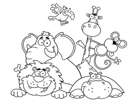 imagenes de animales para colorear los mejores dibujos dibujos para colorear de animales web del maestro