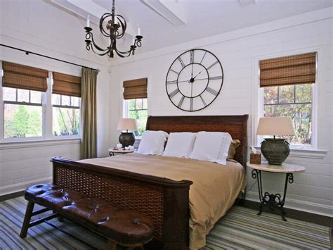 bedroom wall clocks photos hgtv