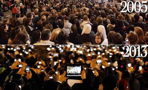 Picture Of Inauguration Crowd by Check Out These Contrasting Pics From St Peter S Square