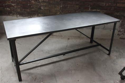 bureau militaire table militaire croisillon bureau metal