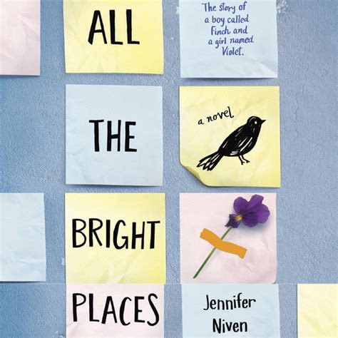 libro all the bright places book review quot all the bright places quot by jennifer niven urbanmoms