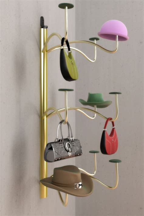 Hat Wall Rack by T2 Design And Prototype One Stop Invention Shop