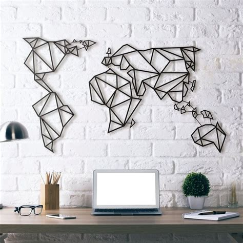 worldly decor world map wall decor best 25 world map wall art ideas on