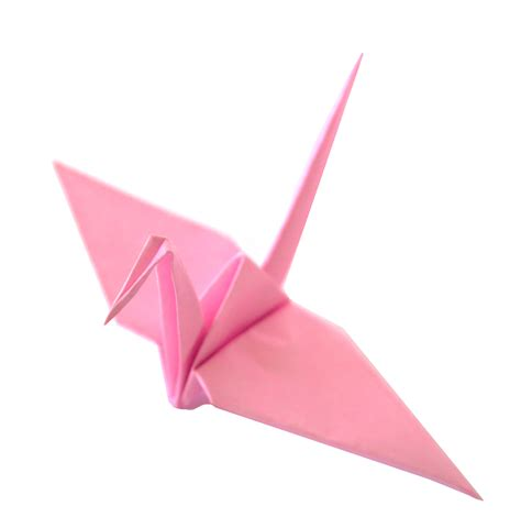 Origami Paper Review - pale pink origami cranes graceincrease custom origami