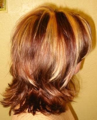 hairstyles with thick highlights thick highlights strong weave 4 slice pinterest
