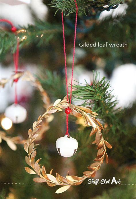how to make christmas bells at home jingle mingle leaf and jingle bell ornaments