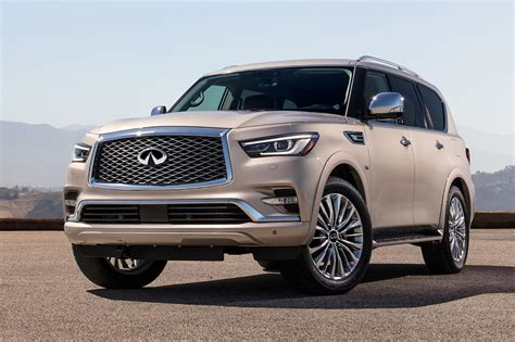infiniti car qx80 2018 infiniti qx80 freshened up marked up cars com