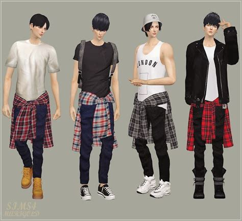 sims 4 cc male geek shirts 105 best images about sims 4 men teen clothing on