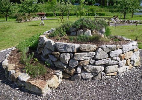 ideen gestaltung steingarten gartens max