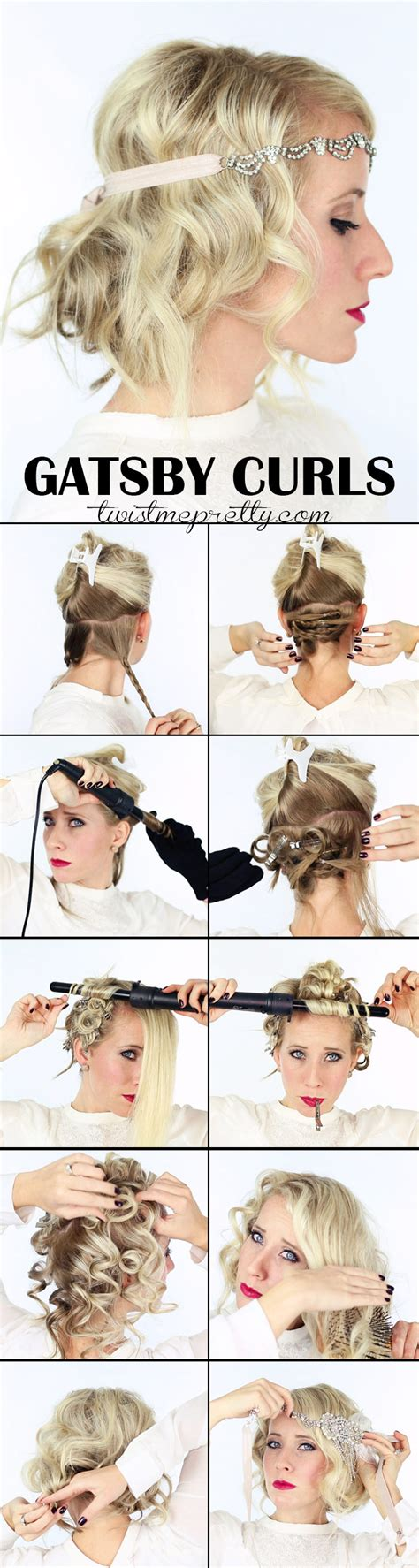1920s wavy hair tutorials the great gatsby hairstyles for women short hairstyle 2013