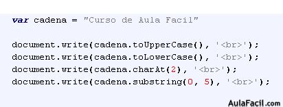 cadenas javascript substring clase string javascript