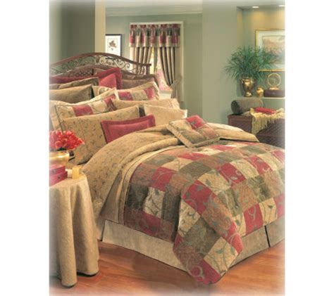 patchouli queen comforter set by thomasville home qvc com