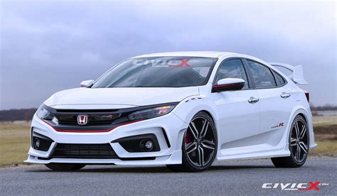 honda civic 2017 type r 2017 honda civic type r sedan spied in spain with
