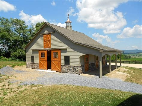 Pole Barn With Apartment Plans Custom Pleasure Barn Precise Buildings