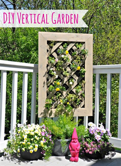 19 creative ways to plant a vertical garden how to make