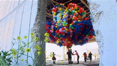 Mythbusters Balloon Chair by To A Fork Lift Images
