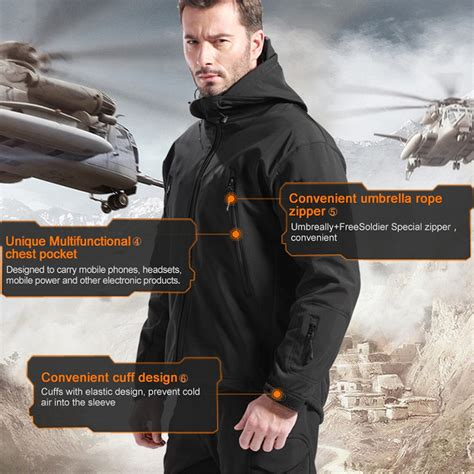 Termurah Free Soldier Jaket Pria Water Resist Windcoat Windproof free soldier jaket water resistant windcoat size s black jakartanotebook