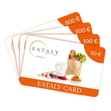 Cache Gift Card - eataly card eataly