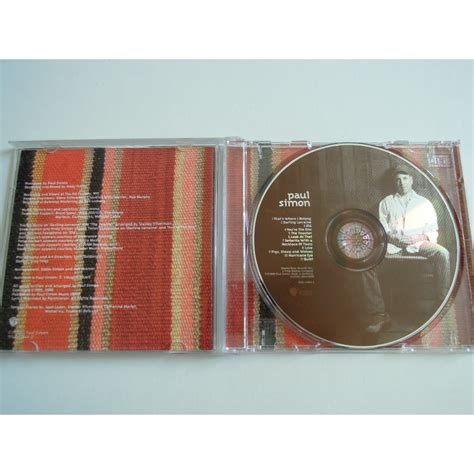paul simon you re the one you re the one by paul simon cd with pitouille ref