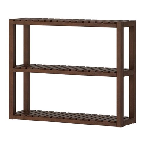 molger wall shelf brown ikea