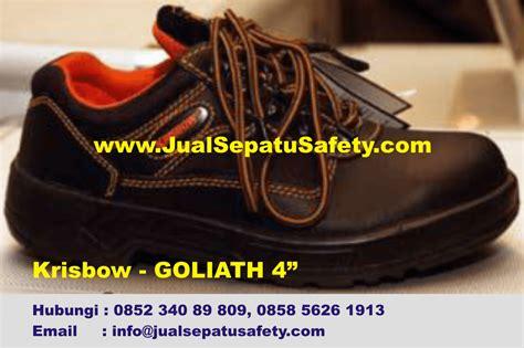 Krisbow Sepatu Safety Goliath supplier utama sepatu krisbow goliath 4 quot 4 inch hp 0852 340 89 809 jualsepatusafety