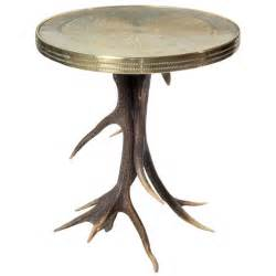 Antler Table L Antler Side Table