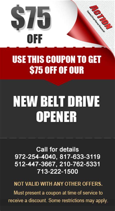 coupons discounts garage door repair service