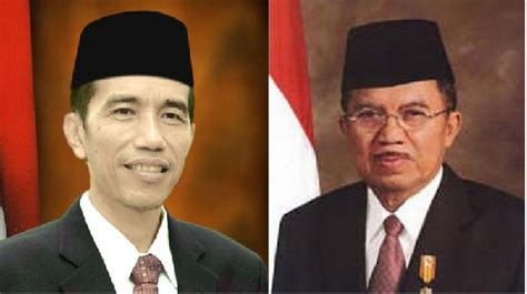 biodata presiden jokowi dan jusuf kalla congratulations president joko widodo and vice president