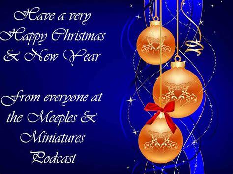 happy holidays merry christmas decorative balls christmas card blue desktop background