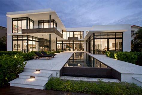 idea home design miami maison contemporaine de standing situ 233 e en floride