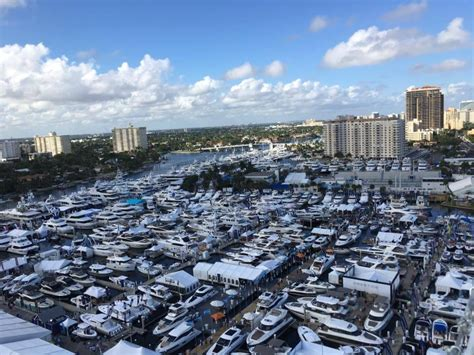 fort lauderdale boat show brokerage events atlantic yacht and ship