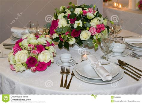 fancy table set for a dinner royalty free stock image fancy table set royalty free stock image image 3464146