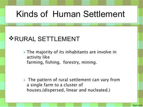 types pattern and morphology of rural settlement in india basic concept of human settlement by martin adlaon arnaiz jr