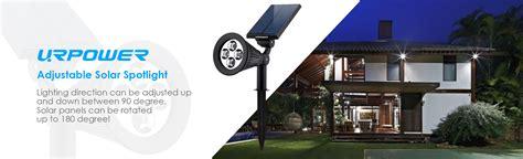 Cctv Outdoor Hdcvi Hhc 5595 solar lights urpower 2 in 1 waterproof 4 led