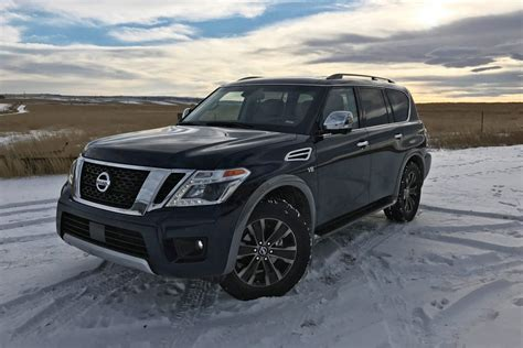 nissan armada road 2017 nissan armada platinum road test review by tim