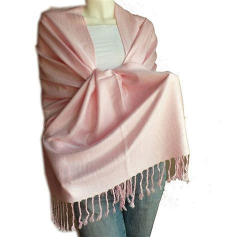 Pashmina Pink light pink pashmina shawl 2107