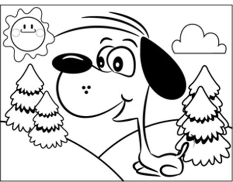 barking dog coloring page barking dog coloring pages coloring pages