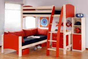 Study Bunk Bed Frame With Futon Chair Bunk Bed A Great Addition To Kids Room Nice Home Decor