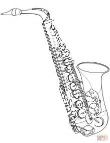 jazz music coloring pages saxophone coloring page free printable coloring pages