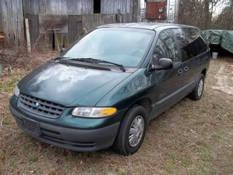 automobile air conditioning service 1997 plymouth voyager spare parts catalogs buy used 1997 plymouth grand voyager base mini passenger van 3 door 3 3l in owings maryland